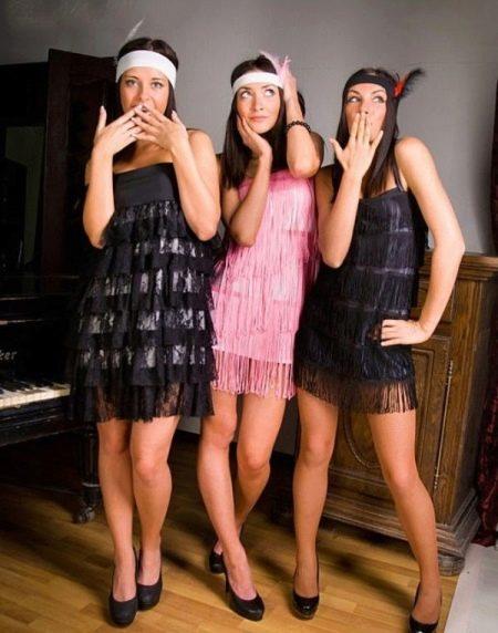 Платья в стиле 30-х выпускные