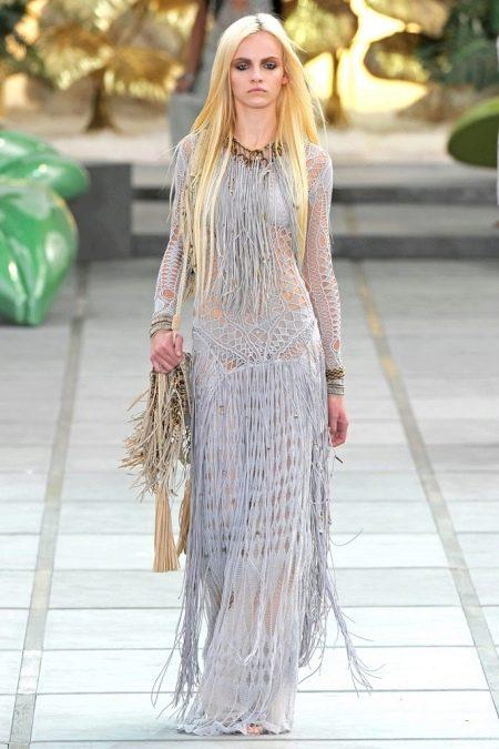 Платье в стиле ретро сафари