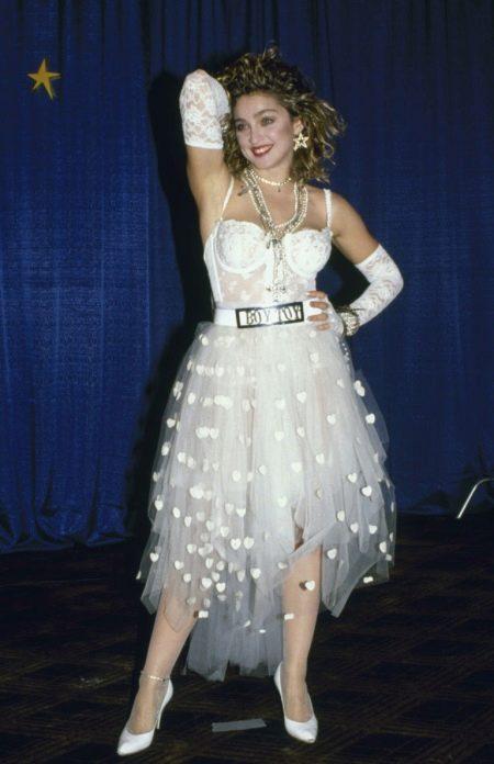 Платье  в стиле 80-х Мадонны