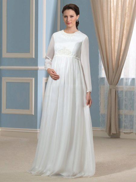 Подвенечное платье для беременных