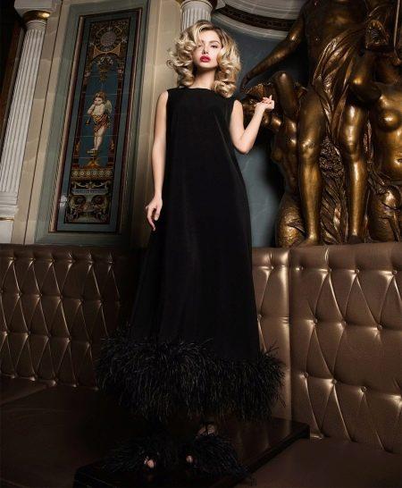 21fa4f84c522859 Зимние платья (100 фото): длинные, в пол и короткие, вязаные ...