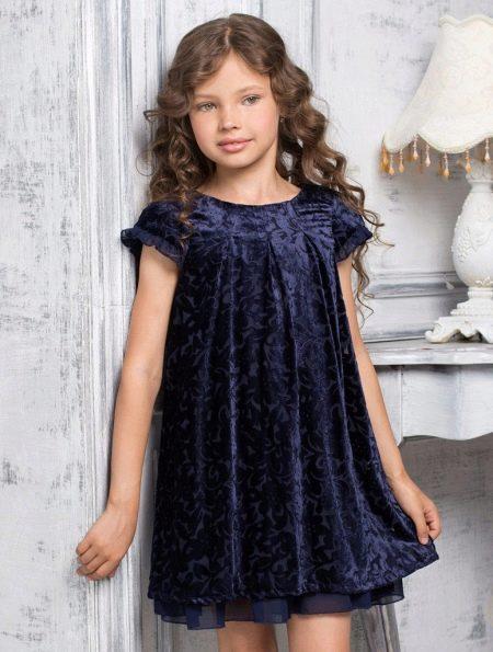Свободное платье для полных девочек