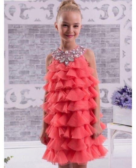 Нарядное платье для девочек в стиле Чикаго