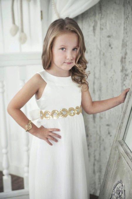 Летнее платье для девочек греческое
