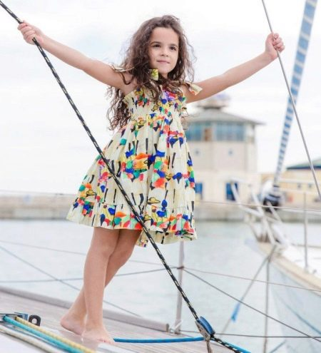 aadfd54e3a90fce Летнее платье для девочки (73 фото): фасоны для девочек 2, 3, 4, 5 ...