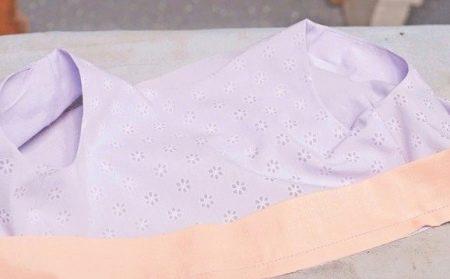 Лиф нарядного платья для девочки