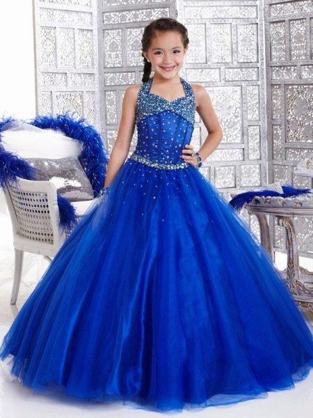 Платье пышное короткое для девочки 11 лет в пол