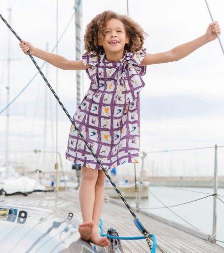 Повседневное платье для девочки 11 лет
