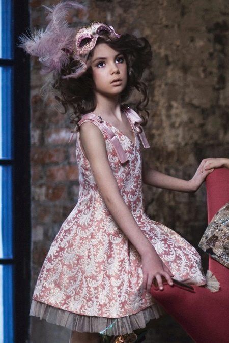 Платье в стиле ретро для девочки 11 лет