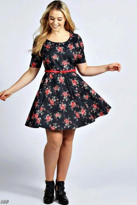 Платье для полного подростка