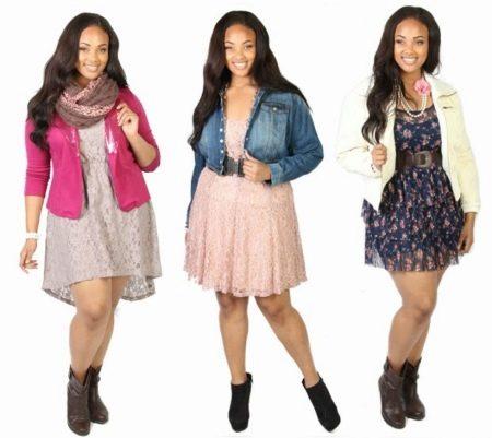 Платья для полной девочки подростка