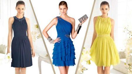 Фасон платья для подростков