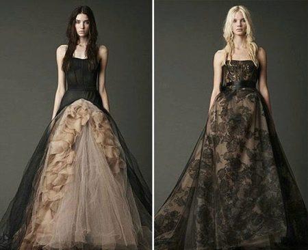 платье из органзы: шик и сдержанность