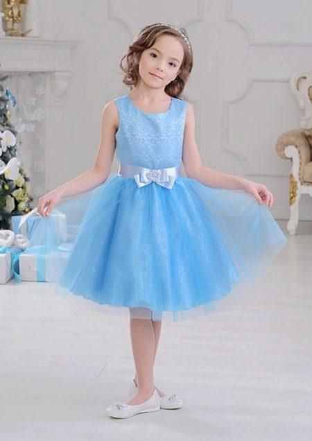 Короткое платье на выпускной 4 класс