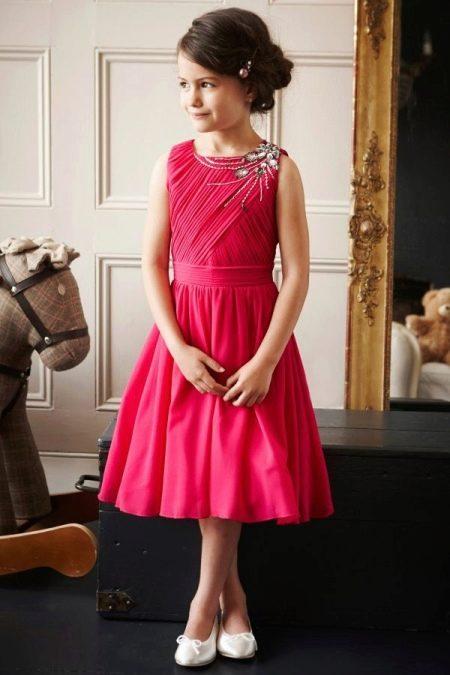 Красное платье на выпускной 4 класс