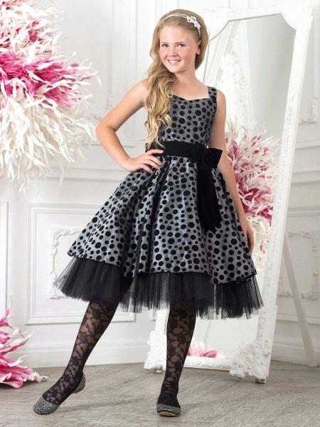 Черное платье на выпускной 4 класс