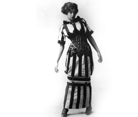 hobble skirt - прародительница юбки карандаш