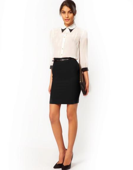 Блузки женские под юбку