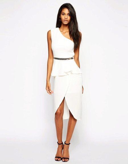 Классическая асимметричная юбка