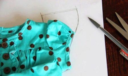 Создание выкройки рукава на платье
