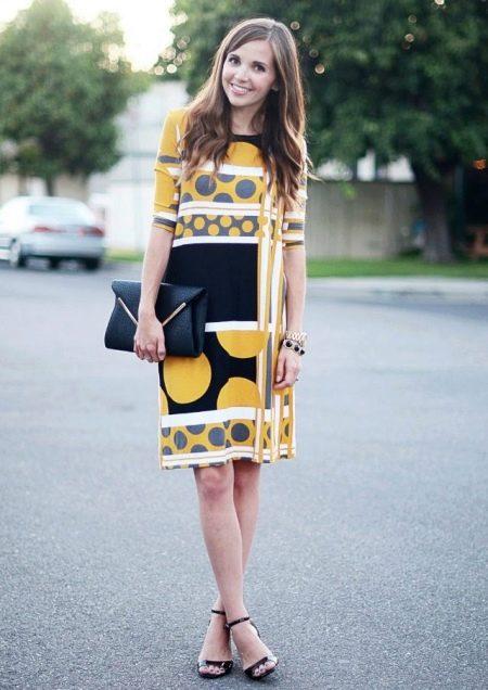 Трикотажное летнее платье своими руками
