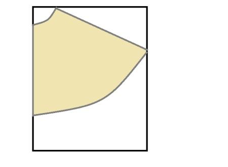Выкройка юбки полусолнце