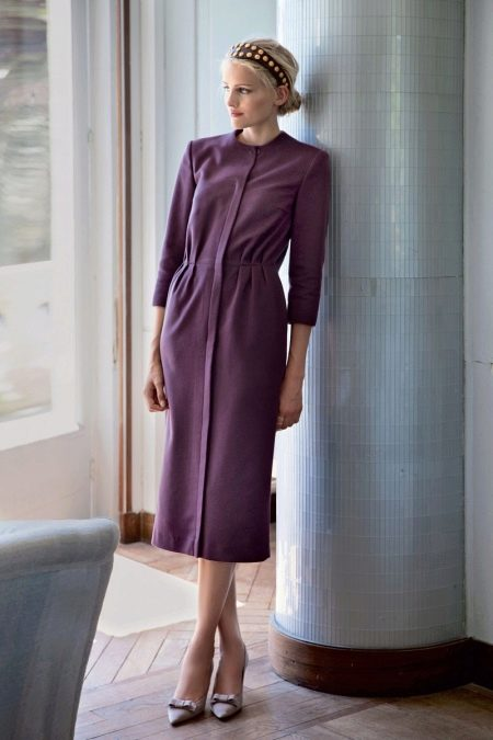 Платье прямое винтажное своими руками