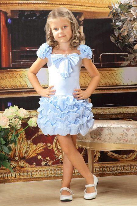 Коктейльное платье для девочки русалка