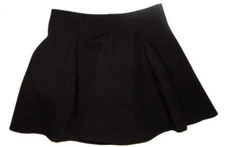 Пошив юбки полусолнце (конической юбки) на молнии