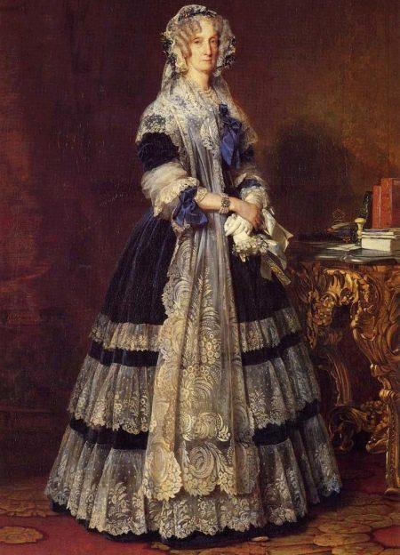 Многослойная юбка 16 века