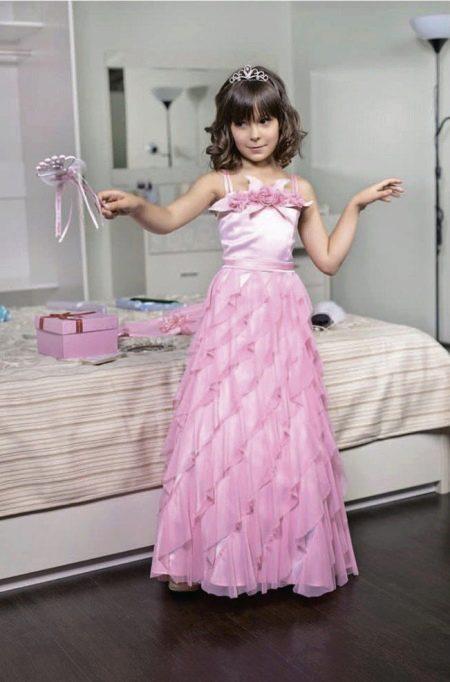 203a195c2b6 Новогодние платья для девочек от 3 до 12 лет  праздничные образы на ...
