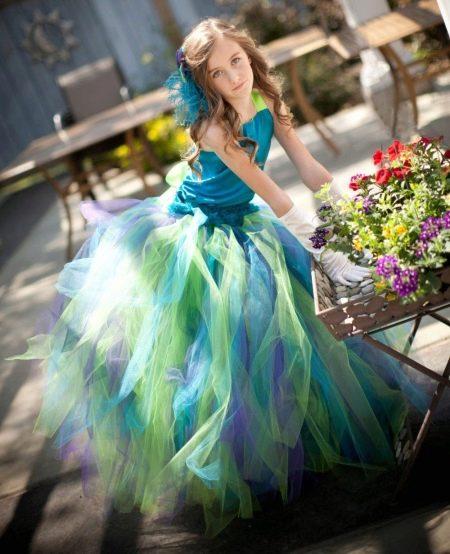 Платье туту для девочки из фатина