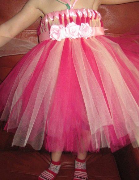 Платье-юбка туту для девочки  - вариант 2