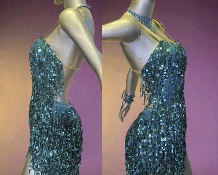 Платье с бахромой в стиле Латино