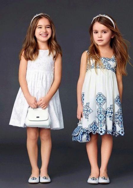 Летнее платье для девочки 5 лет