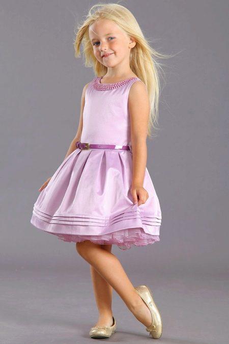 Нарядное пышное платье для девочки 5 лет