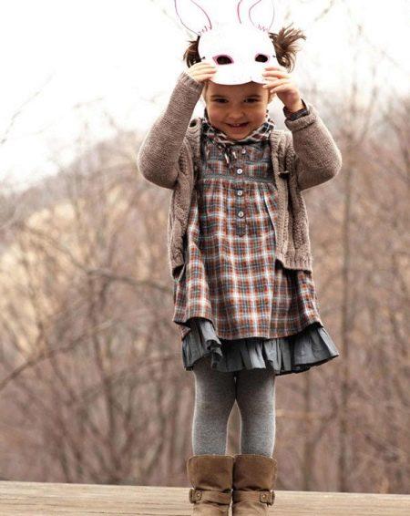 Осеннее платье для девочки 5 лет на каждый день
