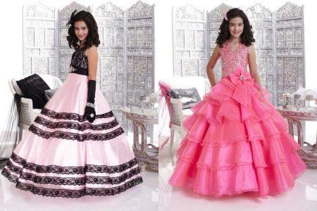 Шикарные бальные платья для девочки