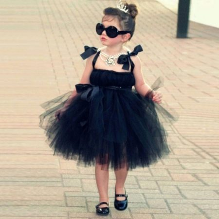 Шикарное  платье-пачка для маленькой девочки