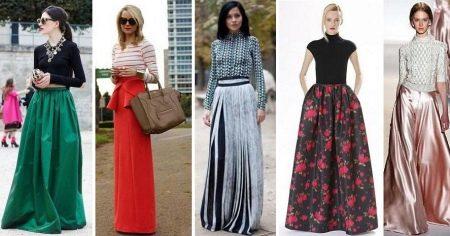 eae08d037f1 Длинные юбки (117 фото)  модные тенденции