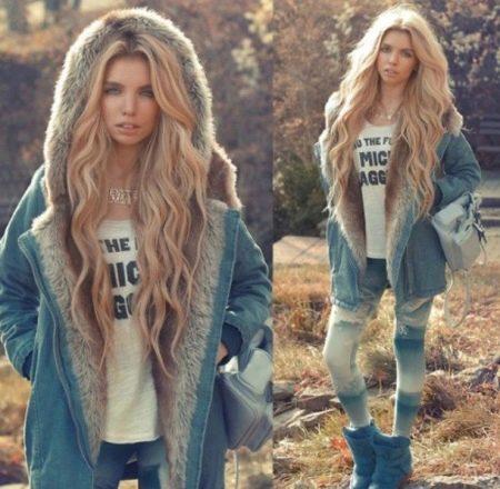 Из всех моделей джинсовых курток модель с натуральным мехом выглядит  особенно роскошно. Несмотря на то, что деним сам по себе не является  «благородной» ... 88c47218f91