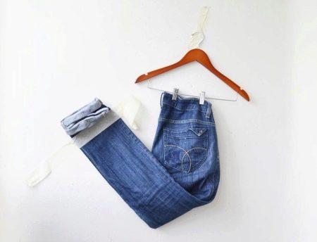 Как сшить юбку из старых джинсов своими руками