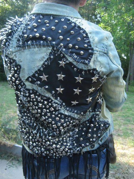Как украсить джинсовую куртку своими руками (73 фото) 22
