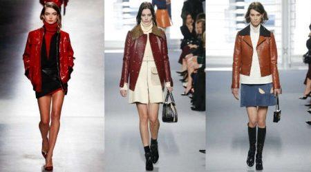 Коричневая кожаная куртка (49 фото): с чем носить женские куртки из кожи коричневого цвета