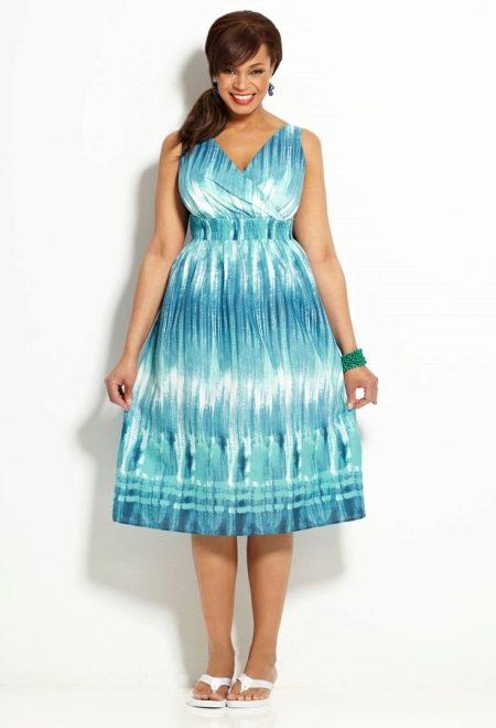 190197c3a27 Платье из хлопка (115 фото)  летние фасоны хлопковых платьев ...