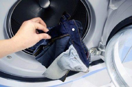Что делать, если джинсы растянулись (35 фото): как усадить на коленках или уменьшить на размер