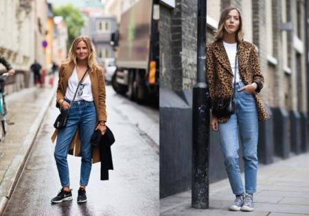 джинсы бананы женские с чем носить фото