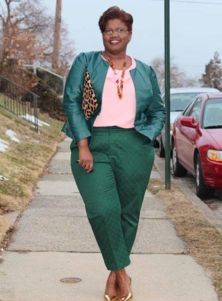 Брюки для полных женщин 2018 (96 Фото): с высокой талией, зауженные к низу, широкие и модные женские брюки больших размеров