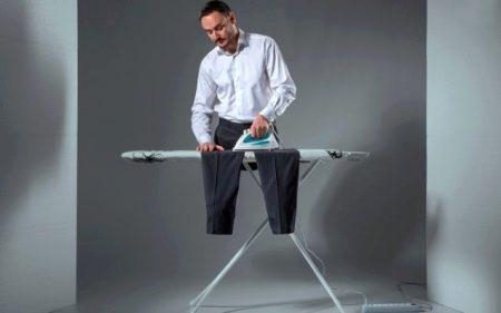 Как гладить брюки со стрелками (73 фото): как правильно сделать стрелки на брюках самостоятельно