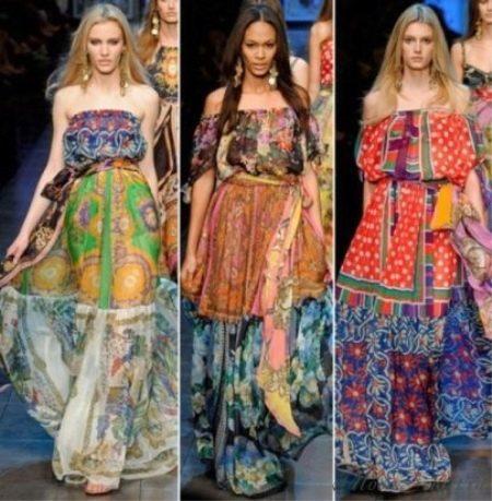 Летние платья и сарафаны в стиле бохо идеальны для романтичных и мечтательных  натур  длинные распущенные волосы, ниспадающие на оголенные плечи, ... 4f99ec62d30